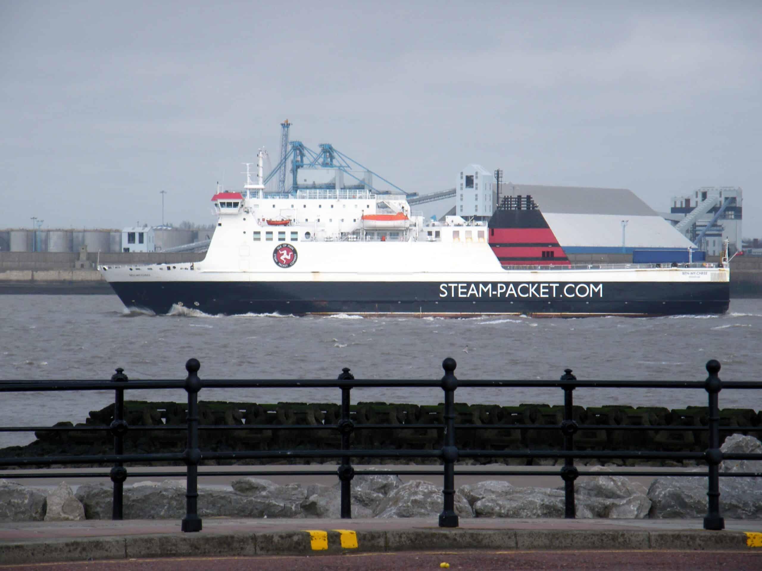 Ben-My-Chree Isle of Man Steam-Packet Company Ferry