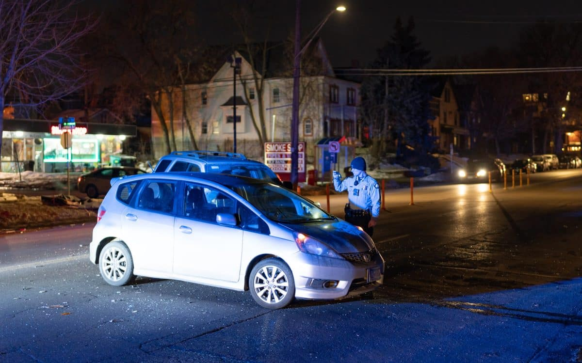 A generic image of a car crash