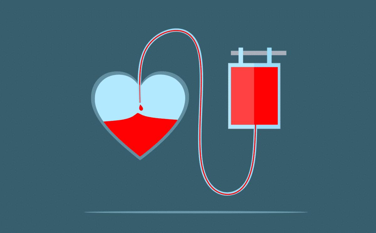 Blood Donation Art