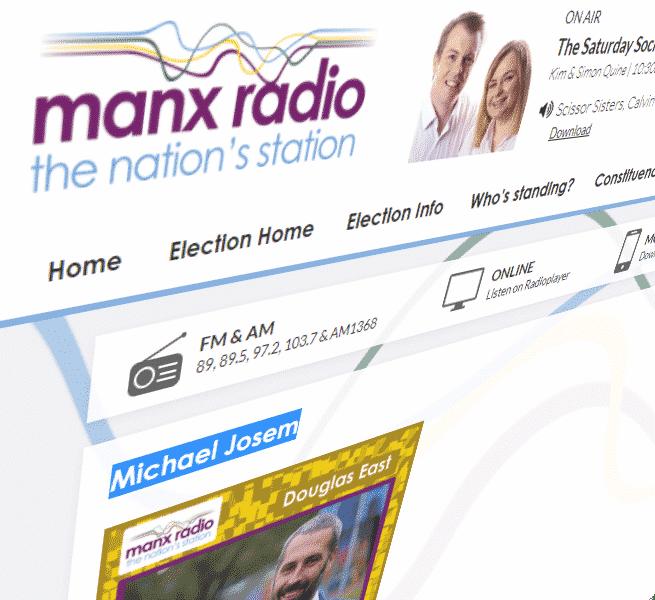 Manx Radio Website Image